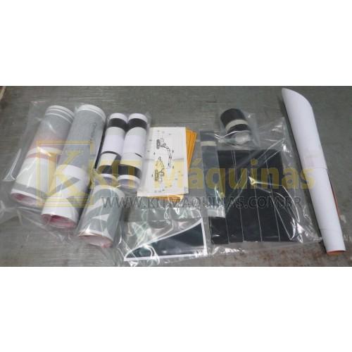 Adesivo kit completo case cx220b kit m quinas for Case da 500 piedi quadrati
