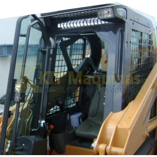 Fechamento de cabine completa case 420 kit m quinas for Piccole case e cabine